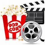 Popcorn Cartoon Icon Theatre Box Newdesignfile Via