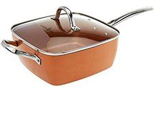 copper chef  piece cookware set sams club