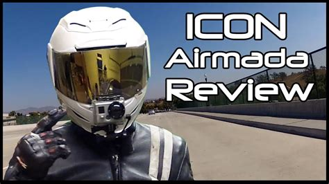 icon airmada helmet review youtube