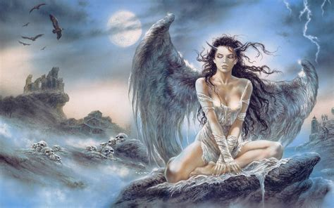 Angel And Demons Wallpaper Luis Royo Images Luis Royo Lady Hd Wallpaper And Background Photos 36133624