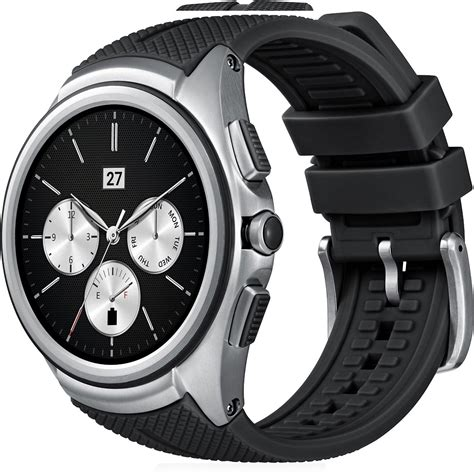 Lg G Watch  Premiumsmartwatch Im Businesslook Mit