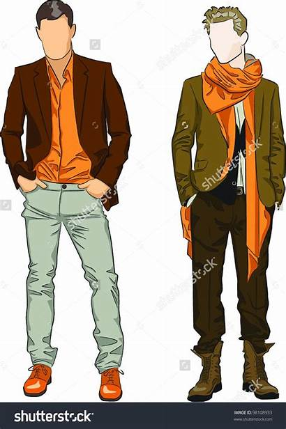 Clipart Male Mens Google Clip Suits Outfits