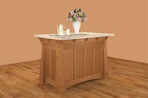 mission kitchen island handmade mission style island by new mission workshop 4171