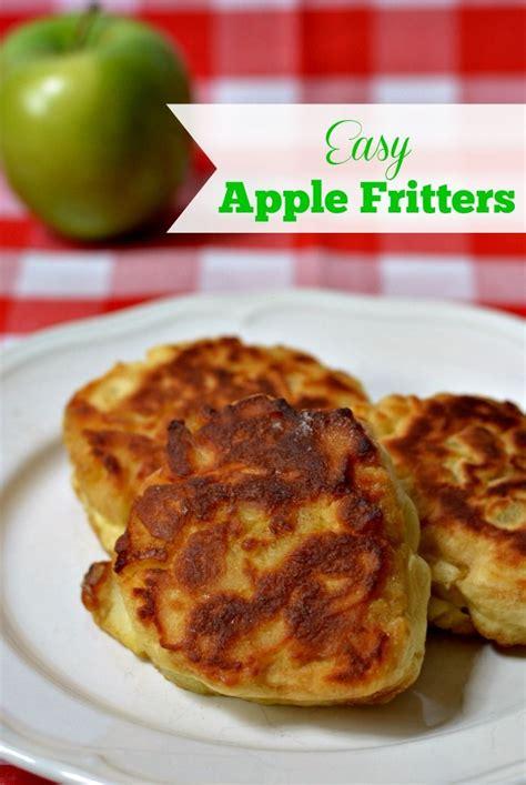 easy apple recipes easy apple fritter recipe