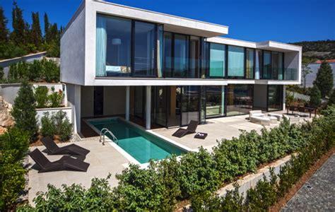 Moderne Häuser Mit Pool Kaufen by Ferienvilla Kroatien Am Meer Mit Pool Luxusurlaub Bei