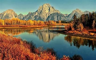 Desktop Fall Mountains Wallpapers Mountain Computer Autumn