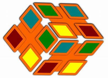 Clip Shape Clipart Diamond Shapes Cliparts Star