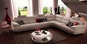 canape d39angle panoramique cuir ou tissu c39est a vous de With canapé tissu panoramique