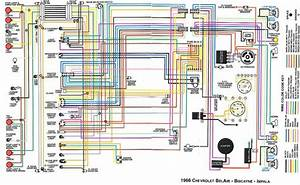 Chevrolet Bel Air  Biscayne And Impala 1966 Complete Electrical Wiring Diagram