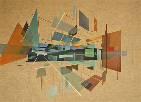 Geometric Abstracts With Architectural Spatial Awareness