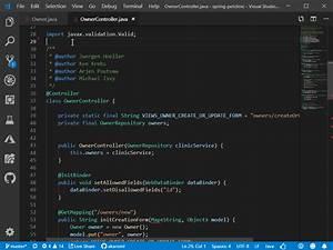 Java on Visual ... Java