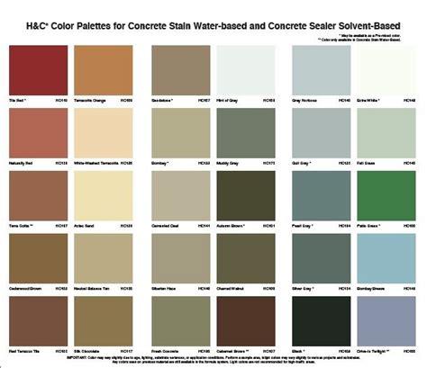 best acid stain color charts acid stain concrete acid stained concrete