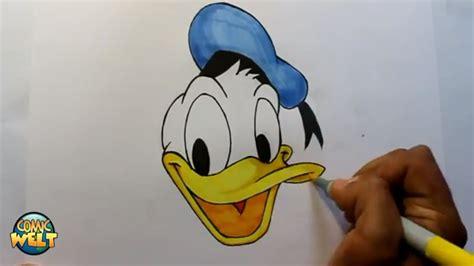 wie zeichnet man donald duck walt disney tutorial youtube
