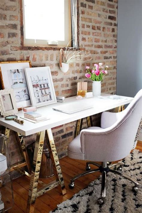 Find & download free graphic resources for brick wall office. Chic Home Office Designs With Brick Walls | ComfyDwelling.com