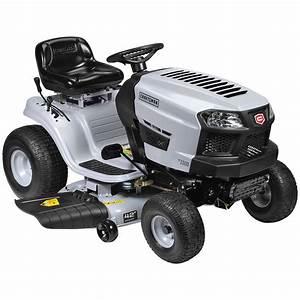 Craftsman 42 U0026quot  420cc Automatic Riding Mower