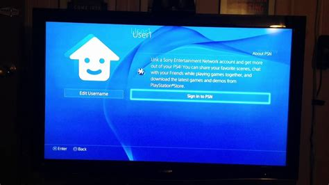 Ps4 Blue Light by Starting The Ps4 For The Time Blue Light Of