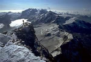 Matterhorn Climb Photos - Coming over the summit ridge
