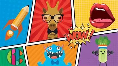Cbbc Cartoonify Bbc Comic Monster Mouth Pencil