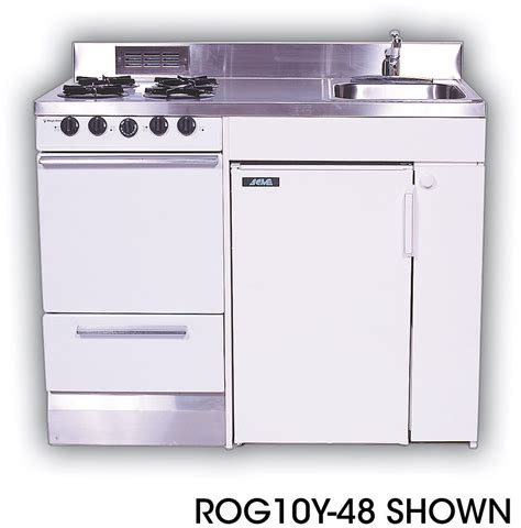 compact sinks kitchen acme roe9y48 compact kitchen with stainless steel 2406