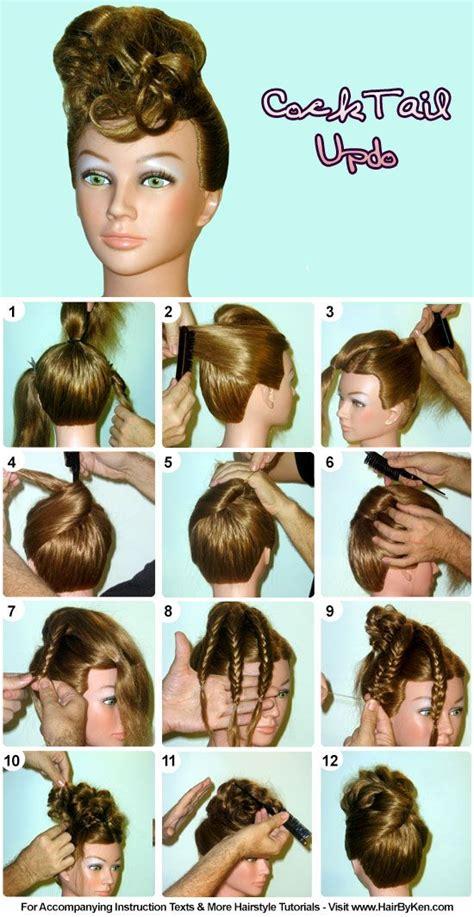 images  step  step hair styles  pinterest