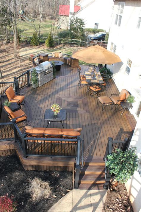 cozy backyard deck ideas   relaxing homemydesign