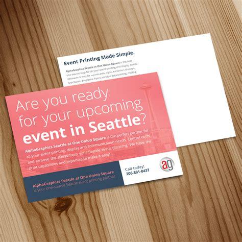 Postcard Printing Seattle, WA: Custom Postcards, Postcard ...