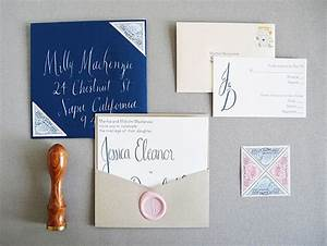 custom playful wedding invitations from paper pastries With wedding invitations with wax paper