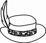Hats Hat Coloring Sun Template Stylish Coloringsun sketch template