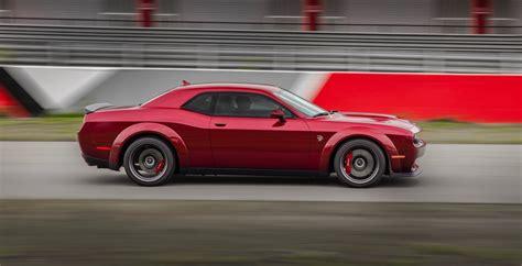 2018 Dodge Challenger Srt Hellcat Widebody Brings Extra