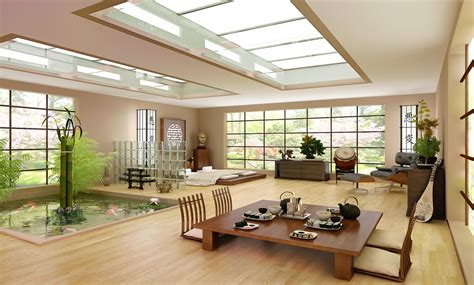 Home Modern Japanese Interior Design Architecture Common