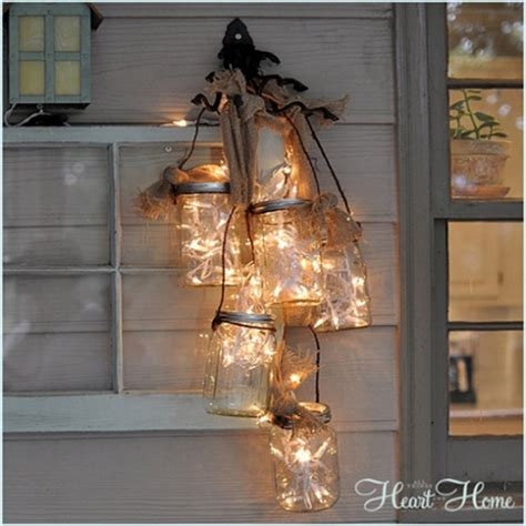 jar light fixture jar crafts