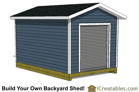 10 X 16 Gable Shed Plans by 10x16 Shed Plans Diy Shed Designs Backyard Lean To