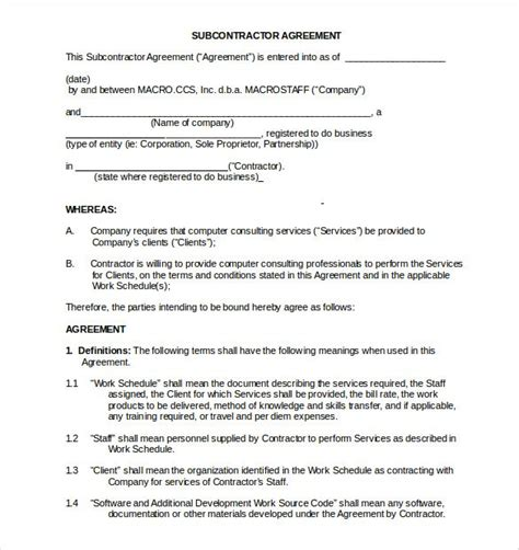 Competition Terms And Conditions Template South Africa by 8 Non Compete Agreement Templates Doc Pdf Free