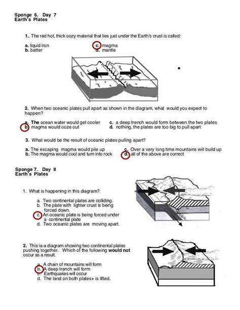 The plate tectonics theory states that. 35 Plate Tectonics Worksheet Answers - Worksheet Database ...