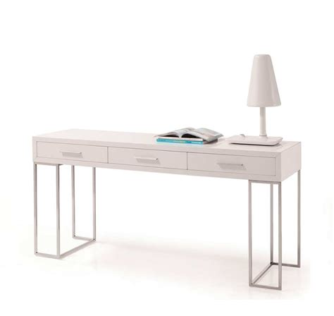 White Lacquer Desk by Modern White Lacquer Office Desk Sj02 Desks