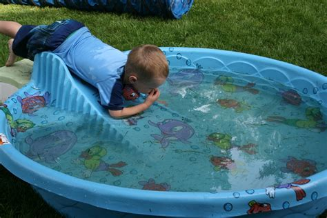 Hard Plastic Baby Pool With Slide Intended For Hard
