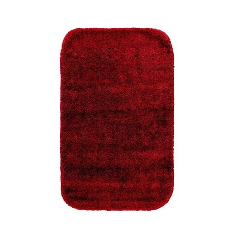 garland rug traditional chili pepper 24 in x 40 in washable bathroom accent rug dec 2440
