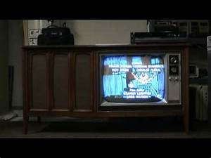 The 1967 Zenith 25 U0026quot  Console Tv  The Sonderborg