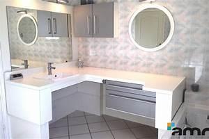 Table à Langer Salle De Bain : mr et mme b amr family salle de bains amrconcept ~ Teatrodelosmanantiales.com Idées de Décoration
