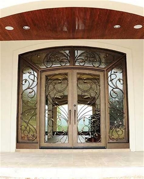 Portella's steel windows are made from 100% recyclable, durable steel. Traditional Iron Doors Portella, wrapped in the power of beauty | Iron doors, Iron entry doors ...