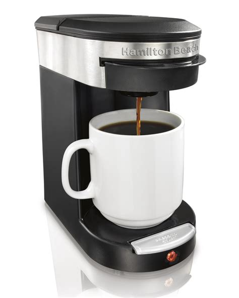 Amazon.com: Hamilton Beach 49970 Personal Cup One Cup Pod Brewer: Kitchen & Dining