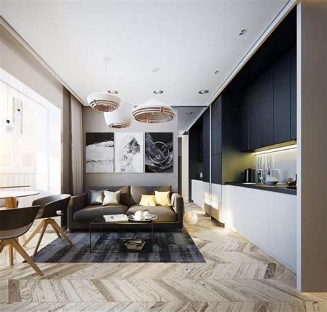 modern apartment ideas single person studio design