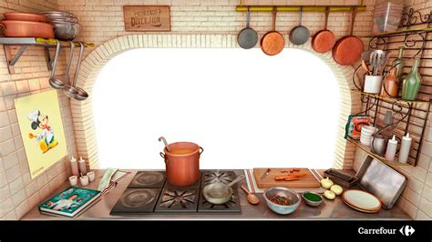 cuisine carrefour cooking ratatouille experience with kinect technology