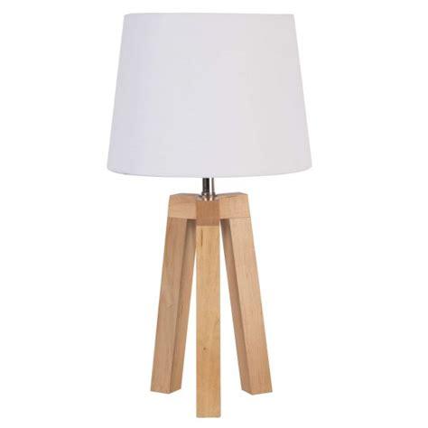 ikea bureau professionnel le trépied bois et abat jour blanc style nordique