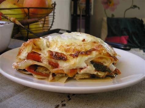 cuisiner des lasagnes lasagnes végétariennes lasagnes