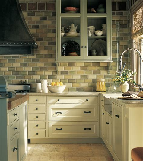 traditional kitchen tiles rustic hickory kitchen cabinets kitchen farmhouse with 2907