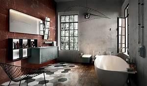 Salle De Bain Style Industriel : am nagement salle de bain sign edon design design feria ~ Dailycaller-alerts.com Idées de Décoration