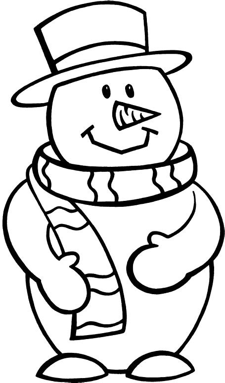 snowman coloring page snowman coloring pages 360coloringpages