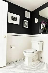 Salle De Bain Image : la salle de bain noir et blanc les derni res tendances ~ Melissatoandfro.com Idées de Décoration