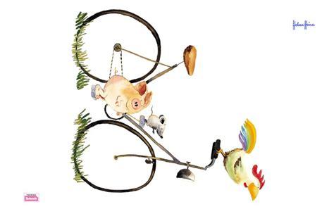 Wandtattoo Kinderzimmer Helme Heine by Wandtattoo Helme Heine Freunde Fahrrad Fahren